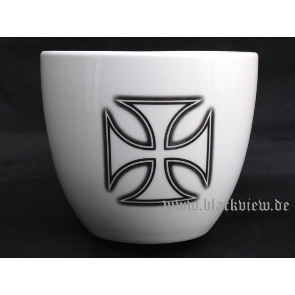 Kaffeebecher XXXL - IRON CROSS